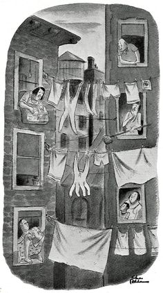 """From """"Drawn and Quartered"""" by Charles Addams"""