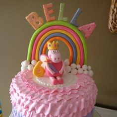 Peppa PIG Fairy Edible Cake Topper | eBay