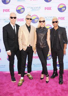 No Doubt at Teen Choice Awards Red Carpet 2012