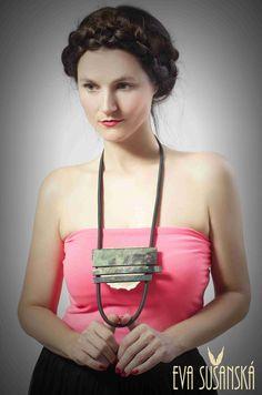 Necklace made by Eva Sušanská