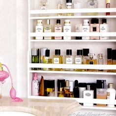 January Equals Organization - The Bathroom and Cosmetics - Becolorful