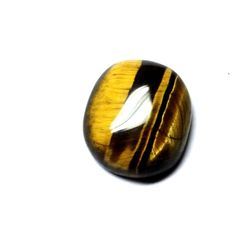 Certified 7.072 Ct. Natural Tiger's Eye Oval Cabochon loose Gemstone TI 121703 #RidhimaGems