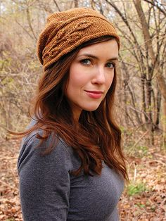 Sprig Cloche Knit Pattern