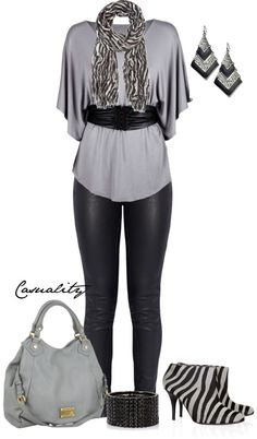 """""""Zebra Boots"""" by casuality on Polyvore"""