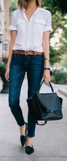 #CapsuleWardrobe #WorkOutfits #OfficeAttires #BusinessCasuals || A Basic Pair of Blue Denim ||  Essentials to Build Capsule Wardrobe for Work || Capsule Wardrobe for  Work || Work Outfits Ideas || Office Outfits Ideas || Business Casual  for Women