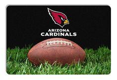 Arizona Cardinals Classic NFL Football Pet Bowl Mat - L