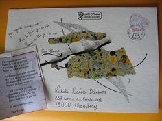 Mail Art de geneviève Guiguet