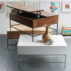 Industrial Storage Coffee Table | west elm