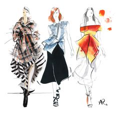fashion illustration - Pesquisa Google