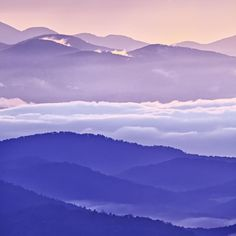 Warm and Cool in the Blueridge Mountains Photograph  - Warm and Cool in the Blueridge Mountains Fine Art Print