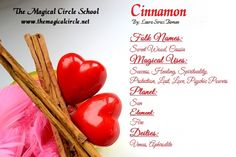 Magical Properties Of - Cinnamon Herbal Magic, Herbal Cure, Herbal Remedies, Magic Herbs, Herbal Plants, Medicinal Plants, Nature Witch, Magic Crafts, Witch Herbs