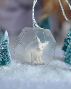 Prism Ornament by Willowday with FREE Printable Template!
