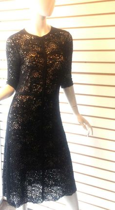 Calvin Rucker lace dress. One of our faves!
