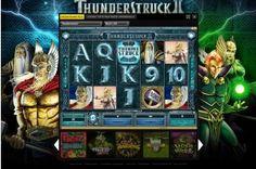 The slot game Thunderstruck 2