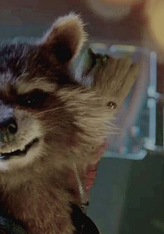 Daily dose of cute with some Baby Groot! #gif