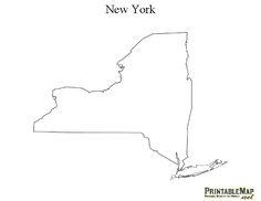 Image Result For Mapa De New York State