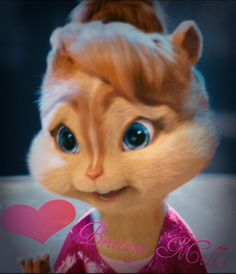 Brittany! Chipmunks Movie, Alvin And The Chipmunks, My Best Friend, Best Friends, The Chipettes, Walt Disney Studios, Brittany, Tinkerbell, Cute Puppies