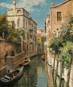 Louis Aston Knight: Venezia