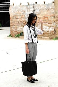9 Cool Looks That Will Have You Rethinking Suspenders | WhoWhatWear