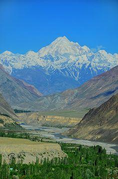 Tirich Mir of Chitral Valley Pakistan