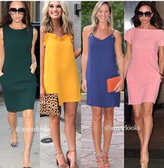 Simple Dresses, Casual Dresses, Fashion Dresses, Dresses For Work, Summer Dresses, Spring Outfits Women Casual, Chic Outfits, Straight Dress, Classy Casual