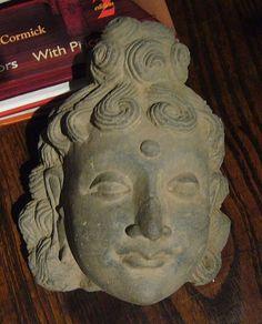 Bactrian greco gandharan head