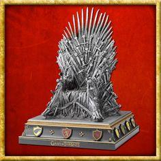Game Of Thrones - Iron Throne Serre-Livres Noble Collection Statues, Game Of Thrones Merchandise, Daenerys Targaryen, Iron Throne, Fantasy, Lion Sculpture, Cool Stuff, Games, Ebay