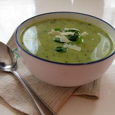 Rychlý a výborný! Naše nejoblíbenější polévka v letním období, kdy mi na zahradě dozrává spousta cuket... Cheeseburger Chowder, Soup, Ethnic Recipes, Soups