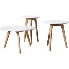 Table basse Marble Wood MM à partir 139-159€