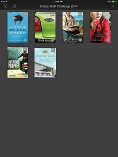 Empty Shelf Book #6 Little Black Sheep by Ashley Cleveland finished 02-05-14 #emptyshelfchallenge