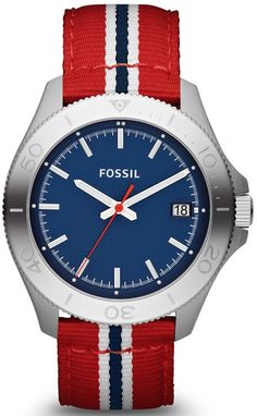 AM4479 - Authorized Fossil watch dealer - MENS Fossil RETRO TRAVELER, Fossil watch, Fossil watches