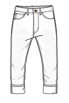 Creative  Template  Vector Fashion Sketch Body Form Women39s Jeans Denims
