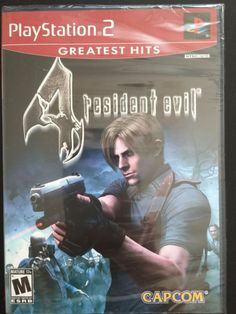 Resident Evil 4 PS2 Game Playstation 2 New and Sealed Product Overview In Resident Evil 4 you'll know a new type of horror, as the classic survival- h... #sealed #playstation #game #evil #resident