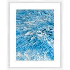 Blue & White Framed Giclee Print