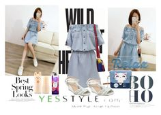 """""""YesStyle Contest #2"""" by teendelta ❤ liked on Polyvore featuring H&M, yeswalker, Tony Moly, Summer, off and yesstyle"""