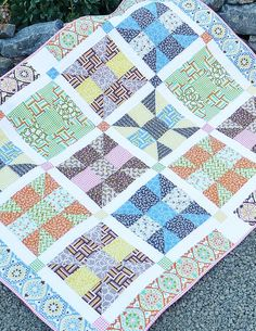 quilt block pattern wishing well - Google Search