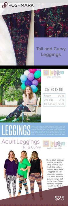"""Brand New Lularoe TC leggings paisley unicorn Having the nickname """"butter leggings"""" is just a sign that our leggings are the softest around. Our leggings are ultra stretchy and super soft. They are as close to your own skin as you can get while still being clothed. Coming in both solid colors and a variety of patterns you are bound to end up with a pair for each day of the week. LuLaRoe Pants Leggings"""