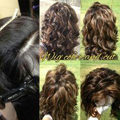 Wig drop of and pick up service Mikka Arrington Salon