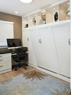 Murphy Bed Idea for office (Here you go Al! Your and Jakes room!)