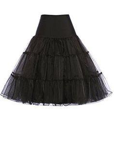 Dreamdress Short 50s Petticoat Rockabilly Tutu Underskirts Half Slips Crinoline Yellow