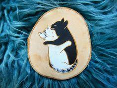 Akryl na dreve :) mňau . Crazy Cat Lady, Painting On Wood, Insta Art, Cats, Artwork, Gatos, Work Of Art, Kitty Cats, Auguste Rodin Artwork