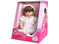 Boneca Laura Doll Flower Light 218 - Shiny Toys com as melhores condições você encontra no Magazine Dufrom. Confira!