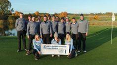 Das FAU-Team holte 2015 den Vizetitel bei der Deutschen Hochschulmeisterschaft Golf.