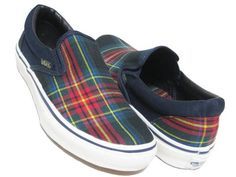 VANS SLIP ON 紺xタータンチェック 26.0cm スリッポン UK - ヤフオク! Vans Classic Slip On, Sneakers, Shoes, Fashion, Tennis, Moda, Slippers, Zapatos, Shoes Outlet