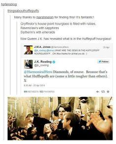 I am a Gryffindor, but good job Hufflepuffs. Good job.