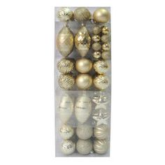 Picture of Solid Gold Ornaments- Set of 78