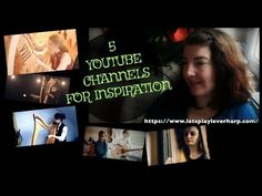 5 YOUTUBE CHANNELS FOR INSPIRATION  | ENG SUB | 2018
