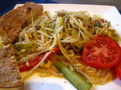 Vegan à Montréal: Le meilleur chop suey au monde