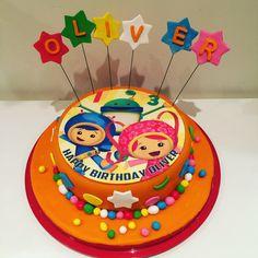 Team Umizoomi Birthday Cake.