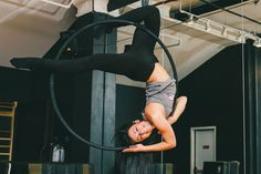 Aerial Hoop: Instagram's Favorite Extreme Workout